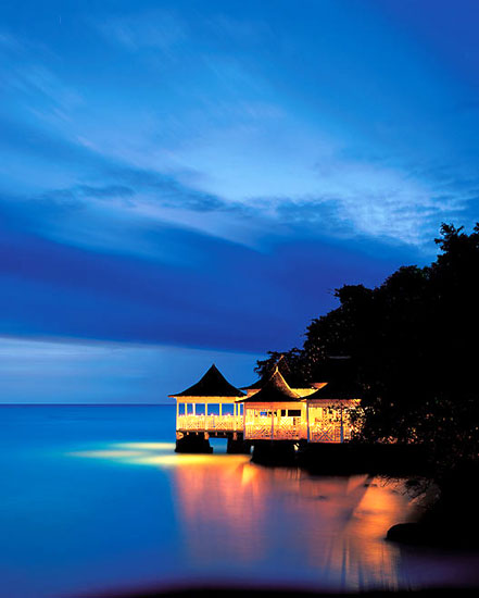 Chinese Restaurant and also night club at Couples Ocho Rios Tower Isle