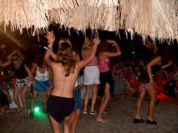 Beach Party, Negril, Jamaica, https://www.jamaica-reggae-music-vacation.com/Negril-Jamaica-Vacation-Package.html