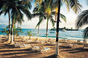 The beach at Tower Isle Ocho Rios