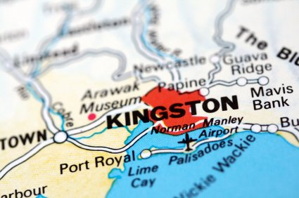 A map of Kingston, http://www.jamaica-reggae-music-vacation.com/Travel-To-Kingston-Jamaica.html
