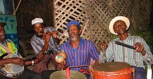 Kumina, http://www.jamaica-reggae-music-vacation.com/Jamaican-Folk-Music.html
