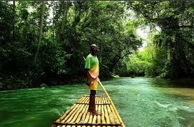 Rafting On The Martha Brae, https://www.jamaica-reggae-music-vacation.com/Montego-Bay-Tours.html