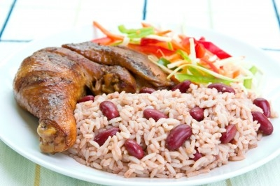 Rice and Peas, Food from Jamaica