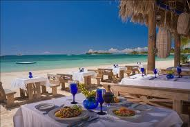 Sandals Bayside Restaurant, http://www.jamaica-reggae-music-vacation.com/Sandals-Negril-Jamaica.html