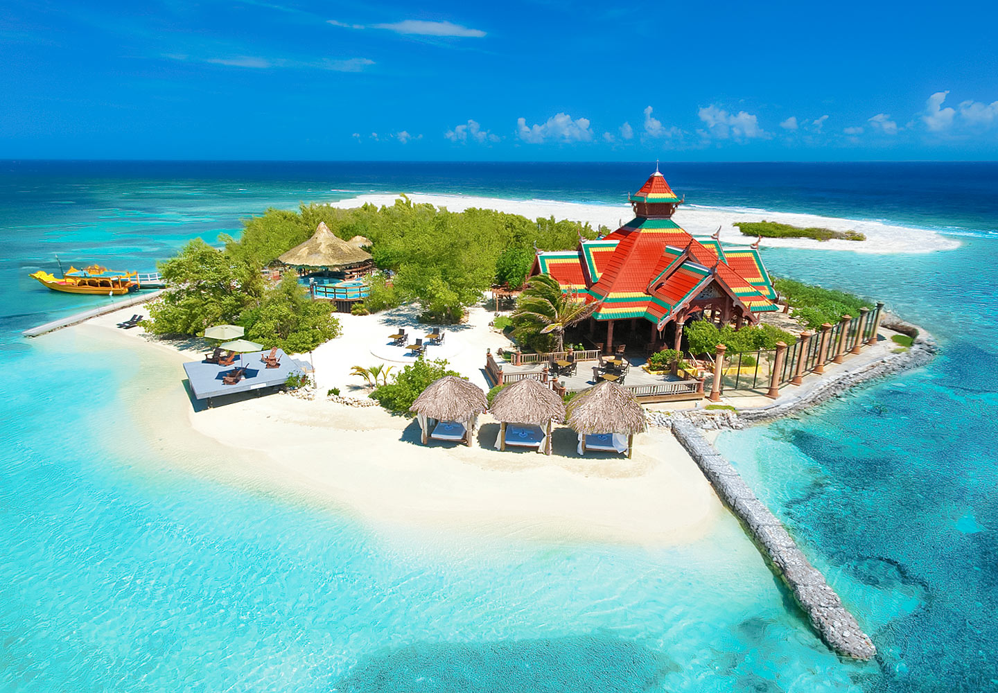 Sandals Royal Caribbean Resort Private Island, Montego Bay, Jamaica. https://www.jamaica-reggae-music-vacation.com/Sandals-Royal-Caribbean.html