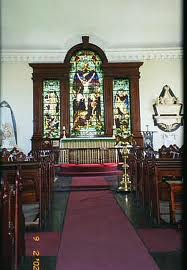 St James Parish Church Stained Glass Window, http://www.jamaica-reggae-music-vacation.com/Montego-Bay-Tours.html