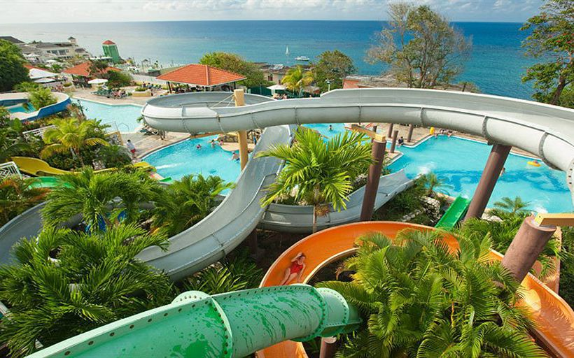 Water Slides, Montego Bay, Jamaica  https://www.jamaica-reggae-music-vacation.com/Best-Jamaica-Vacations.html