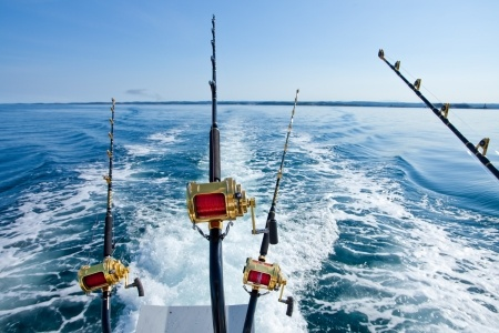 Deep sea fishing in Jamaica