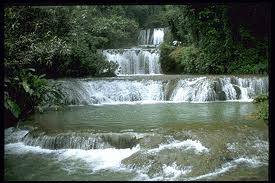 Mayfield falls, Jamaica, https://www.jamaica-reggae-music-vacation.com/attractions-in-jamaica.html