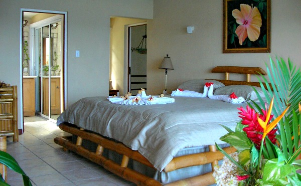 https://www.jamaica-reggae-music-vacation.com/Port-Antonio-Villas.html, Point of View Villa Bedroom