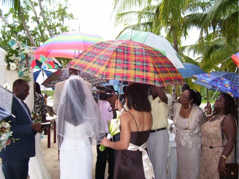 Beach Wedding, Negril, Jamaica
