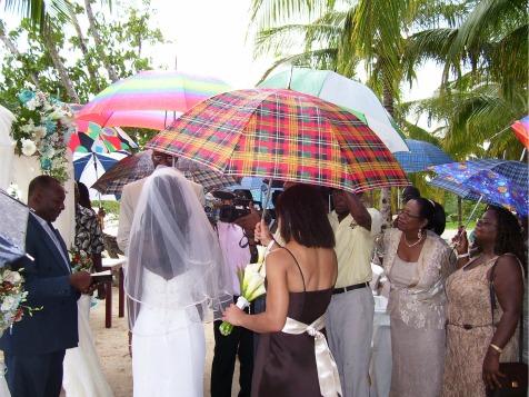 Beach Wedding, Negril, Jamaica