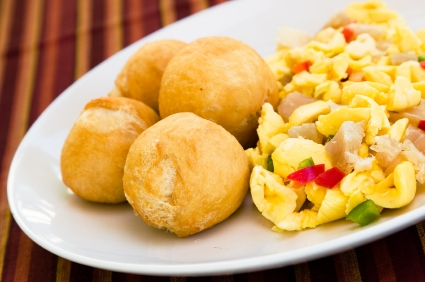 Fried DumplingsAckee and Saltfish, Food from Jamaica